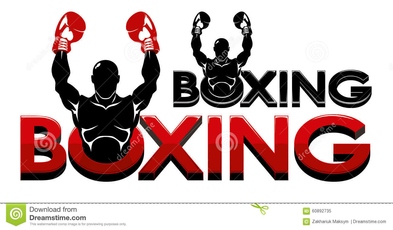 boxing logo stock vector illustration of logo sign