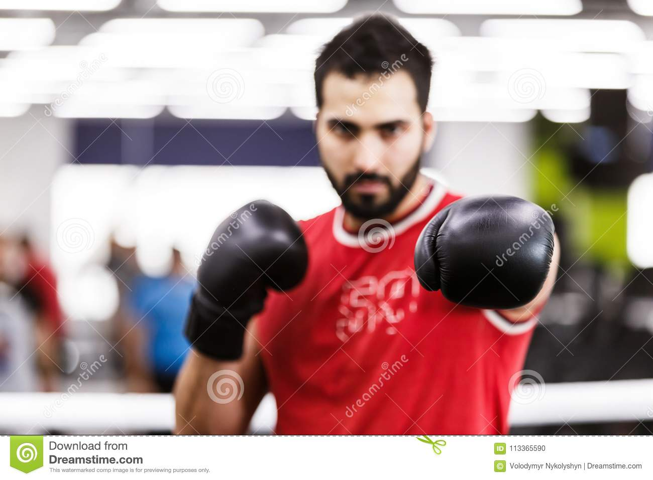 The Boxing Man