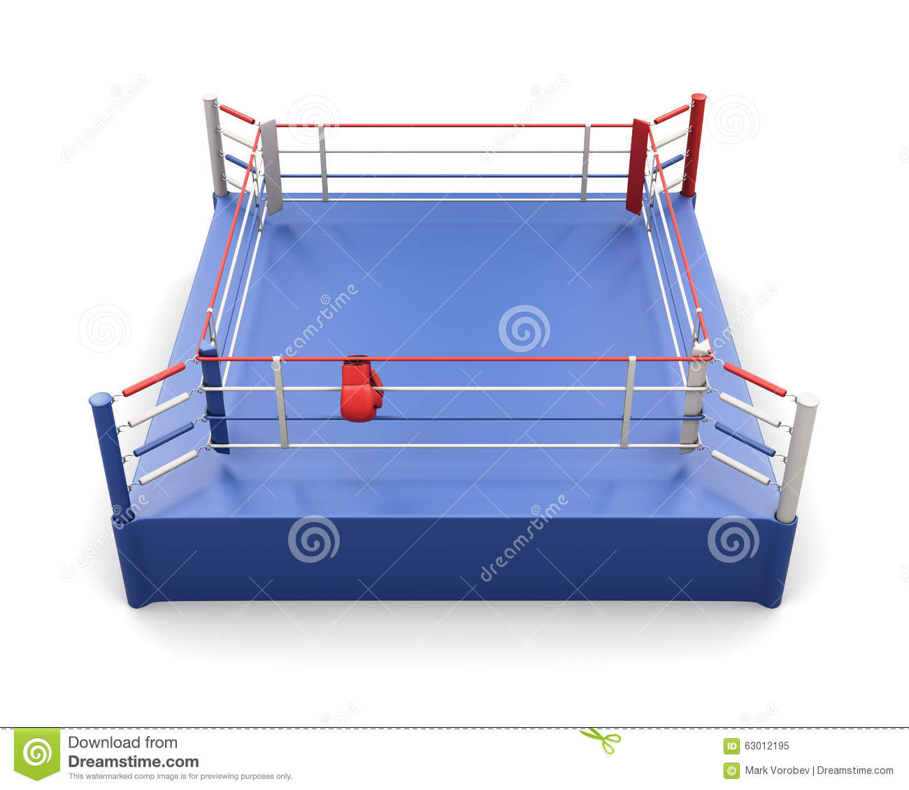Boxing ring and gloves on the ropes 3d illustration stock download boxing ring and gloves on the ropes 3d illustration stock illustration illustration ccuart Images