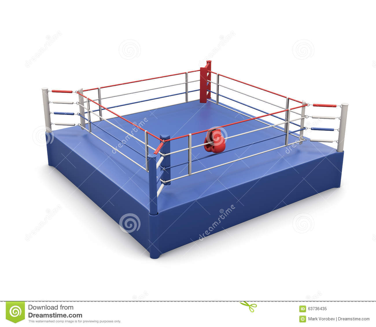Boxing ring and gloves on the ropes 3d stock illustration download boxing ring and gloves on the ropes 3d stock illustration illustration of ccuart Images