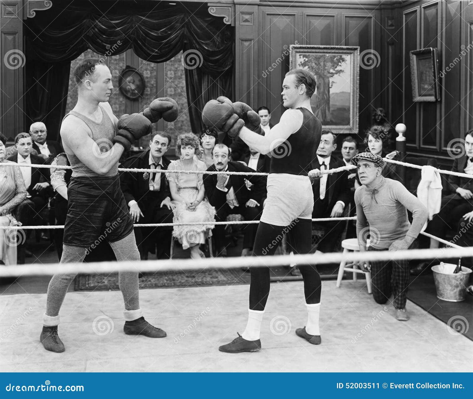 Boxveranstaltung (alle dargestellten Personen sind nicht längeres lebendes und kein Zustand existiert Lieferantengarantien, dass