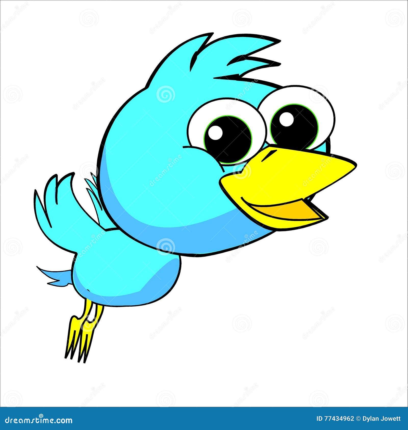 Boy Bird Jungle Characters For Kids Cartoon Stock Illustration