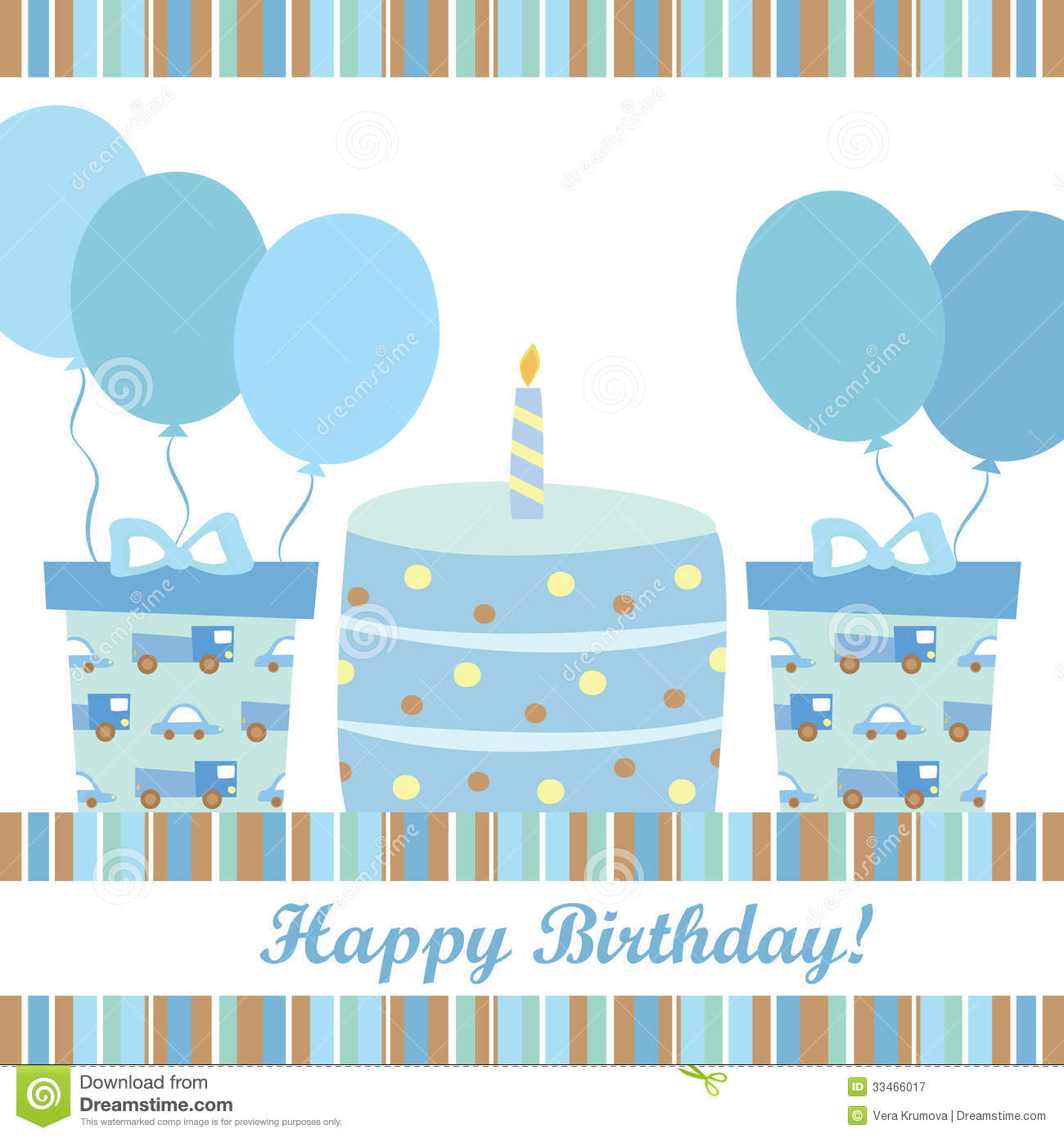 Boy Birthday Card Royalty Free Photography Image 33466017 – Birthday Card for Boy