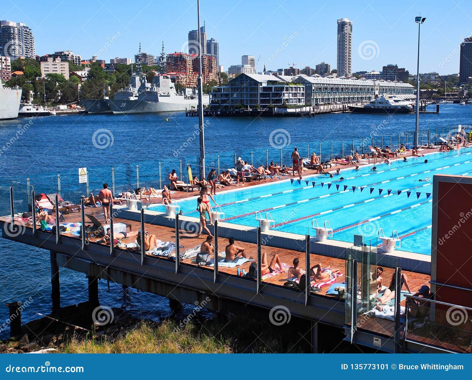 Boy Charlton Public Pool, Woolloomooloo Bay, Sydney