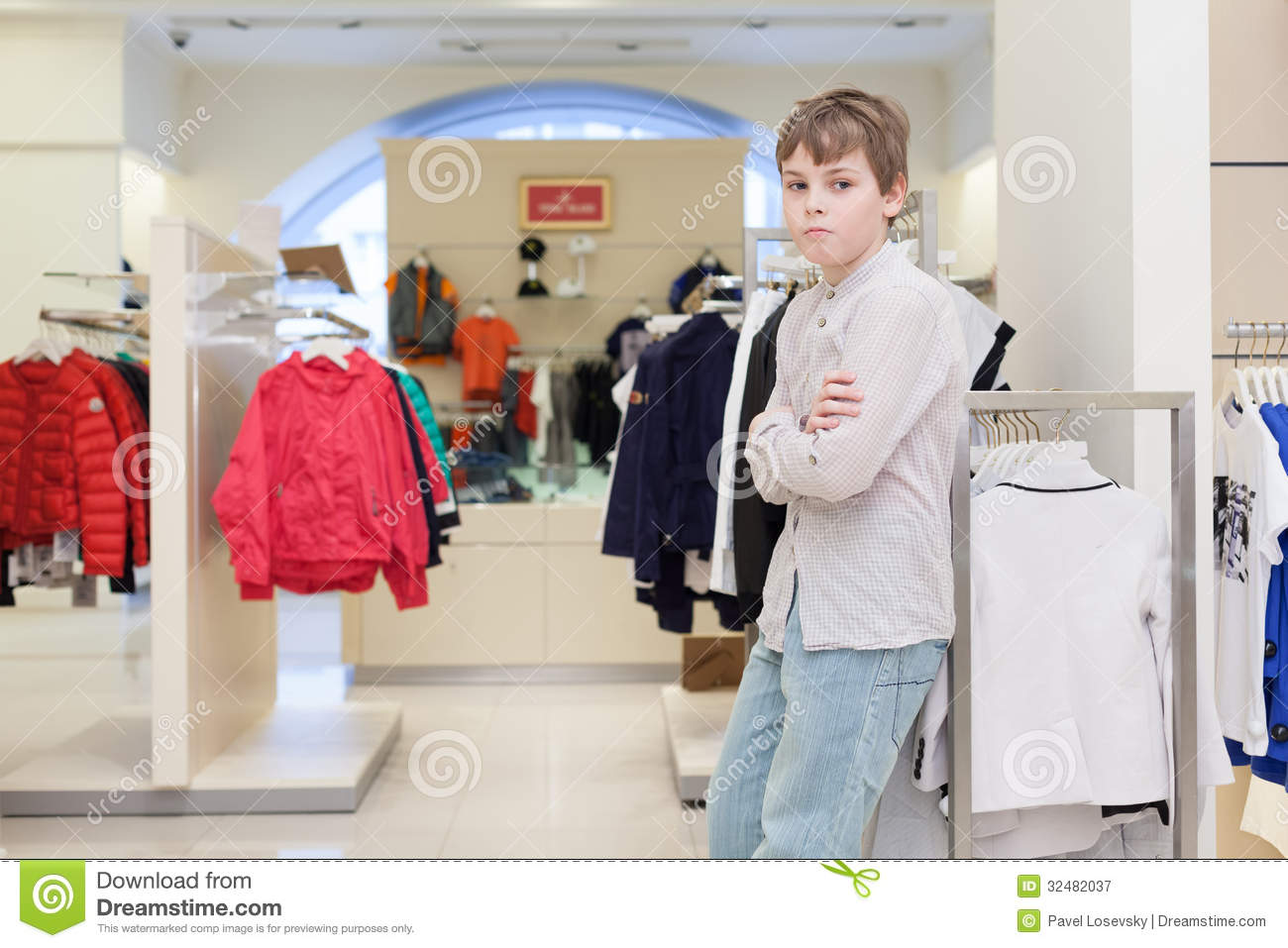 Big boy clothing store