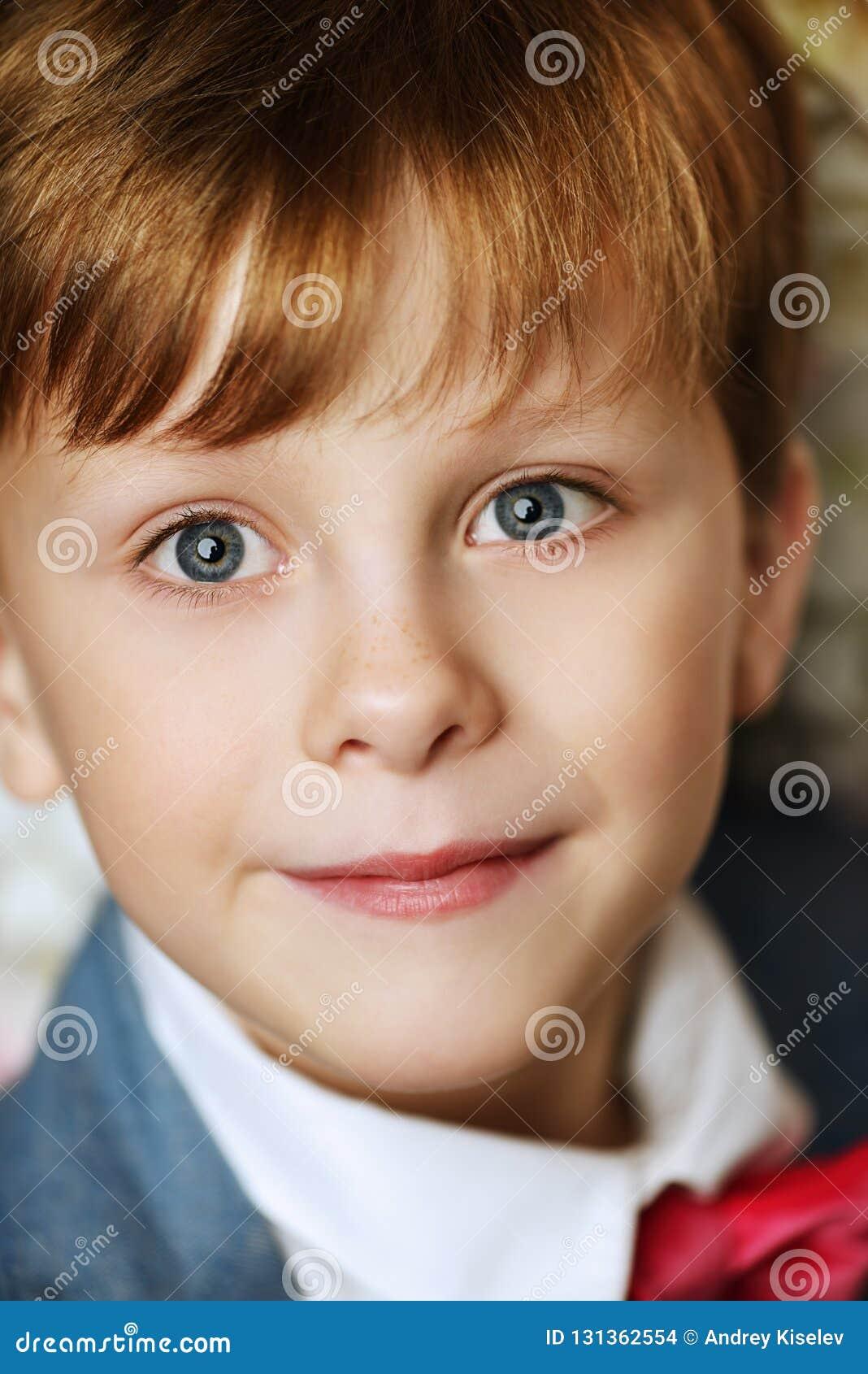 Boy close up