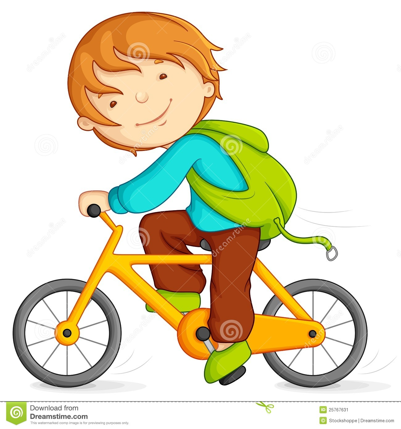 Boy cycling stock vector. Illustration of healthy, action ...