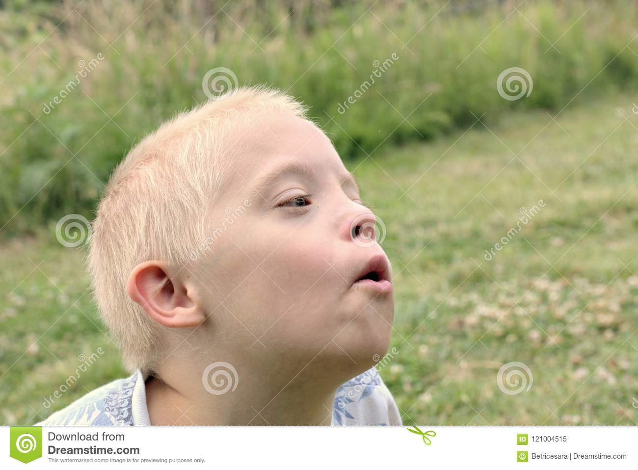 Children with Down syndrome pose for a nice photo shoot 48