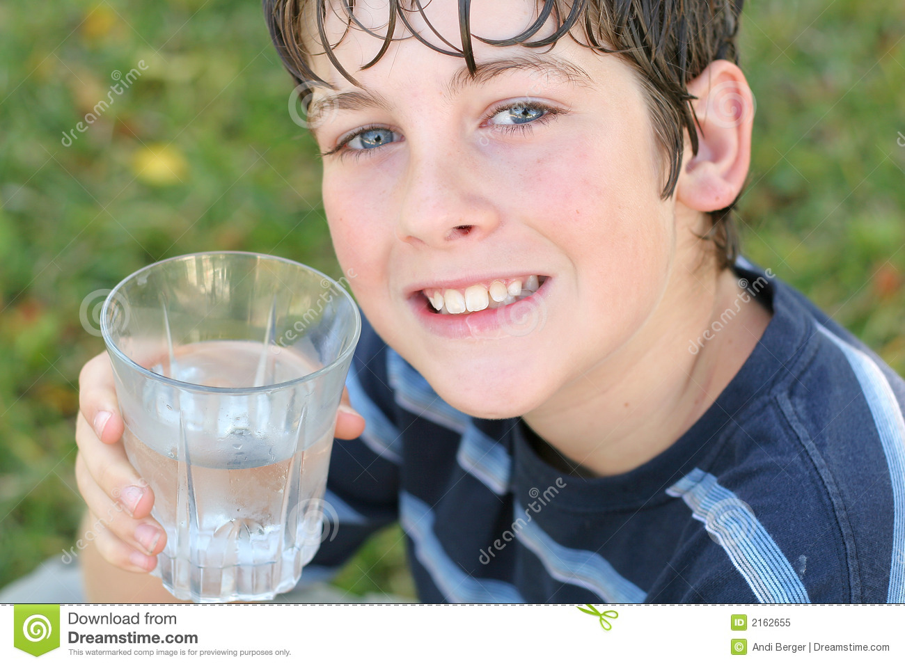 A Adorable Boy Water 2162655 Stock Glass Nature Image Drinking Of -