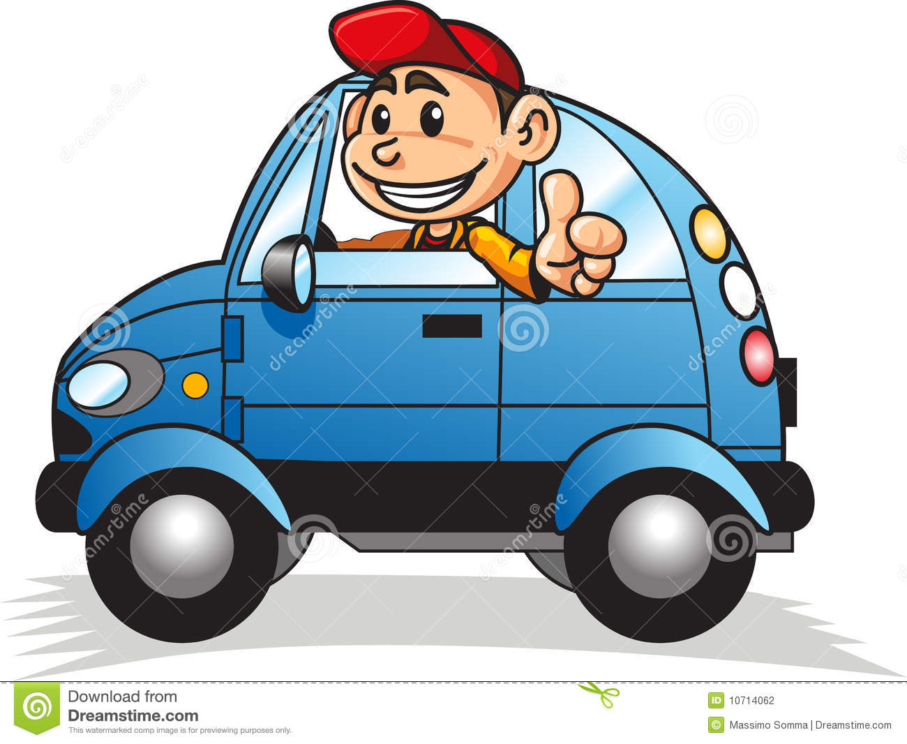 Boy Driving Car 02 Stock Photography - Image: 10714062