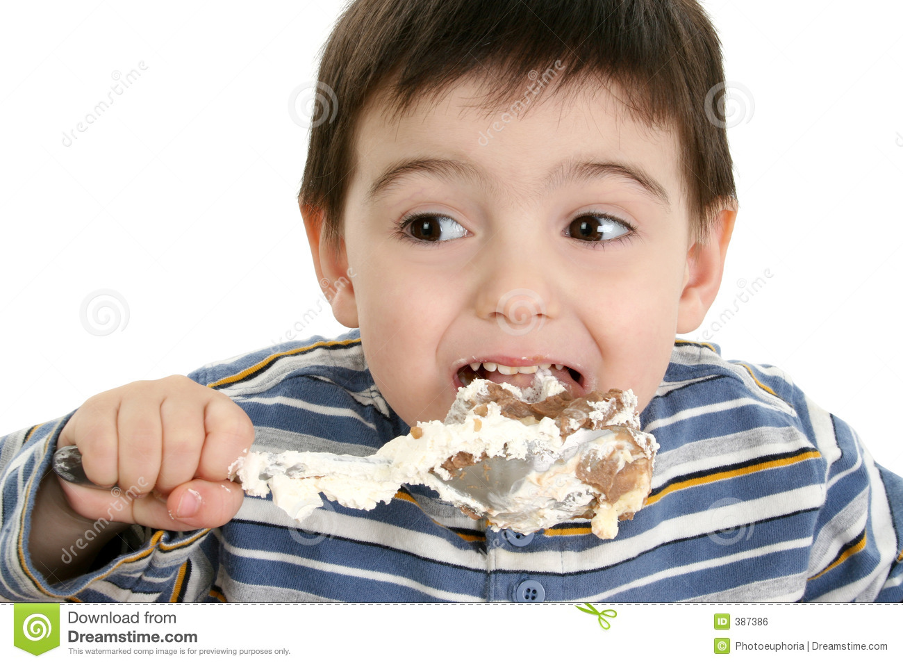 Kids Eating Objects