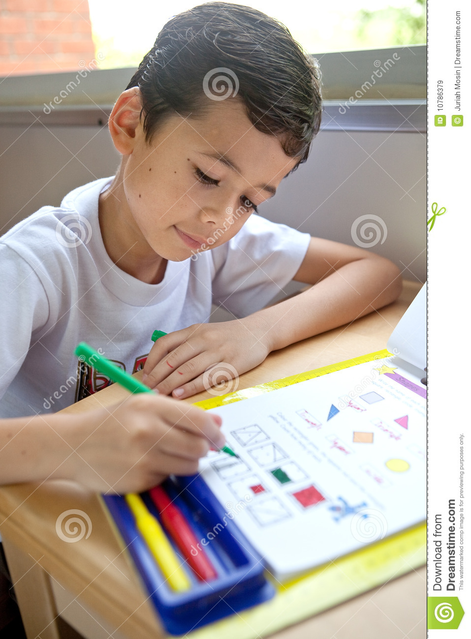 Clipart School Child