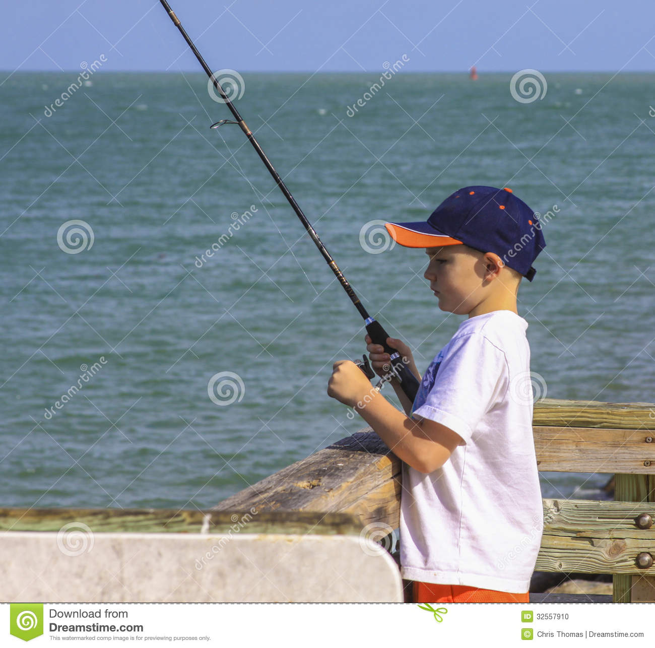 Boy fishing stock photo image 32557910 for Little boy fishing