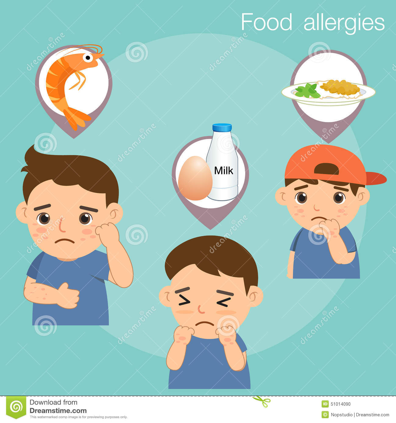 Allergies Cartoons, Illustrations & Vector Stock Images ...