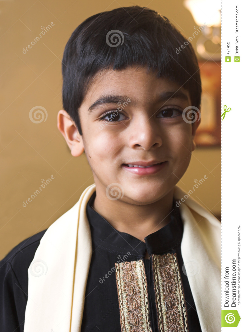Boy In Formal Indian Attire Stock Photo - Image of children, male: 471452