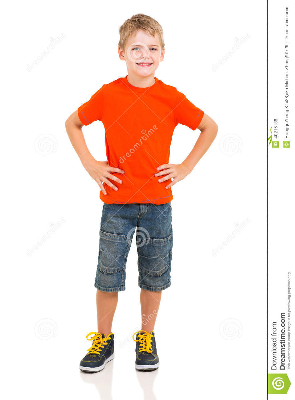Boy full length portrait stock photo. Image of background ...