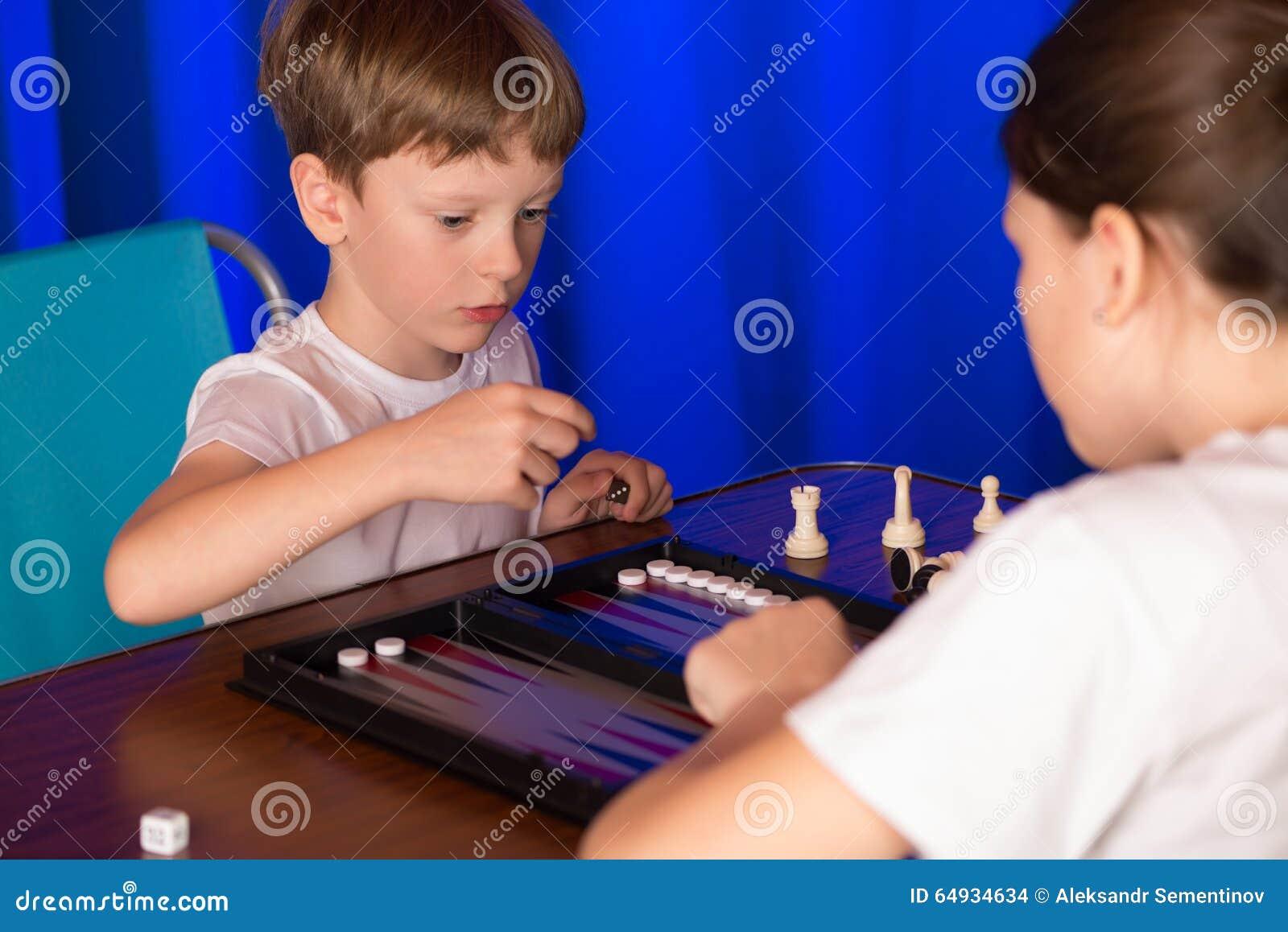Oriental boy play