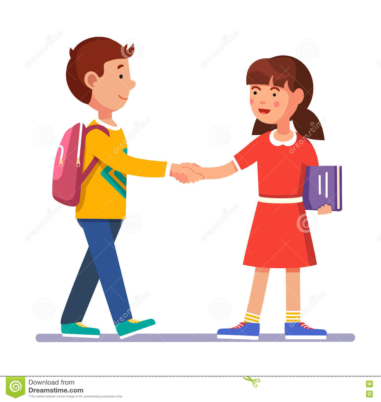 children handshake clipart - photo #19