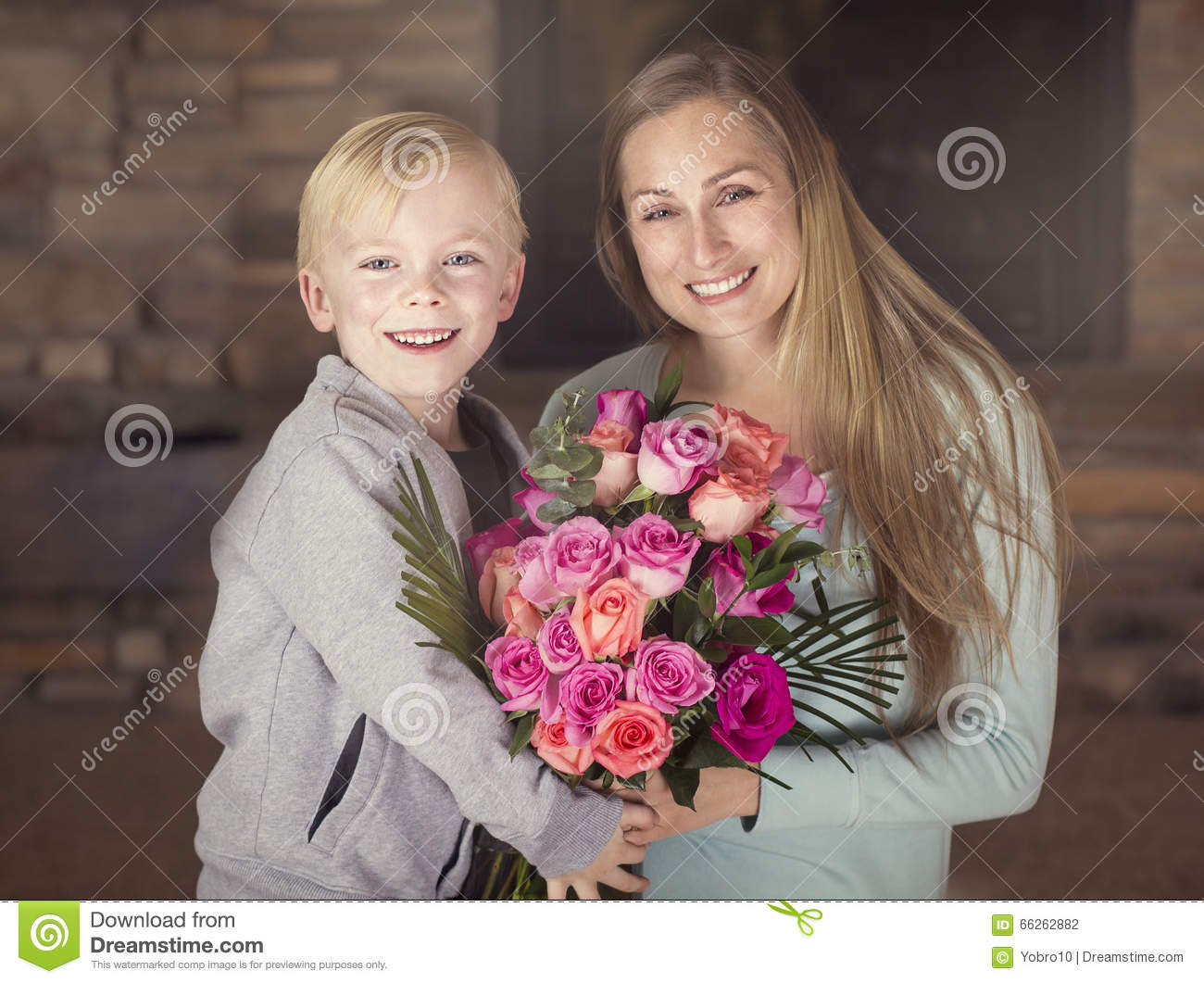 It's okay to give mother only flowers for your birthday 80