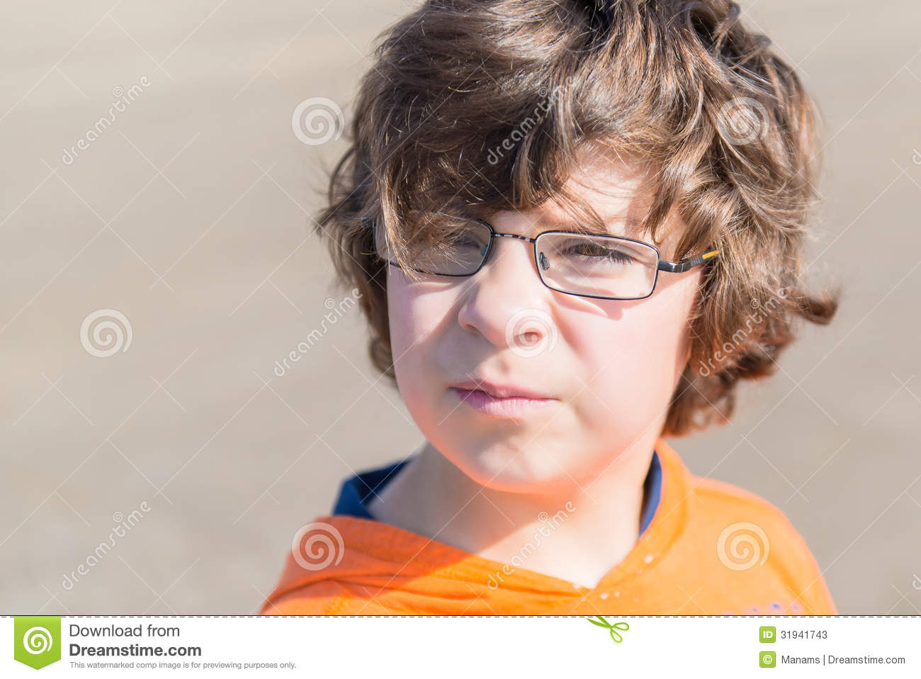 Boy With Glasses Stock Photos Image 31941743