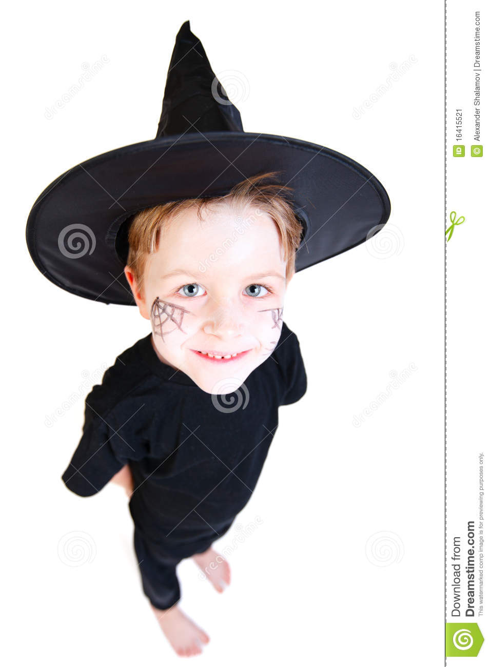 Halloween Makeup For Kids Boy.Boy In Halloween Costume Stock Image Image Of Magic 16415521