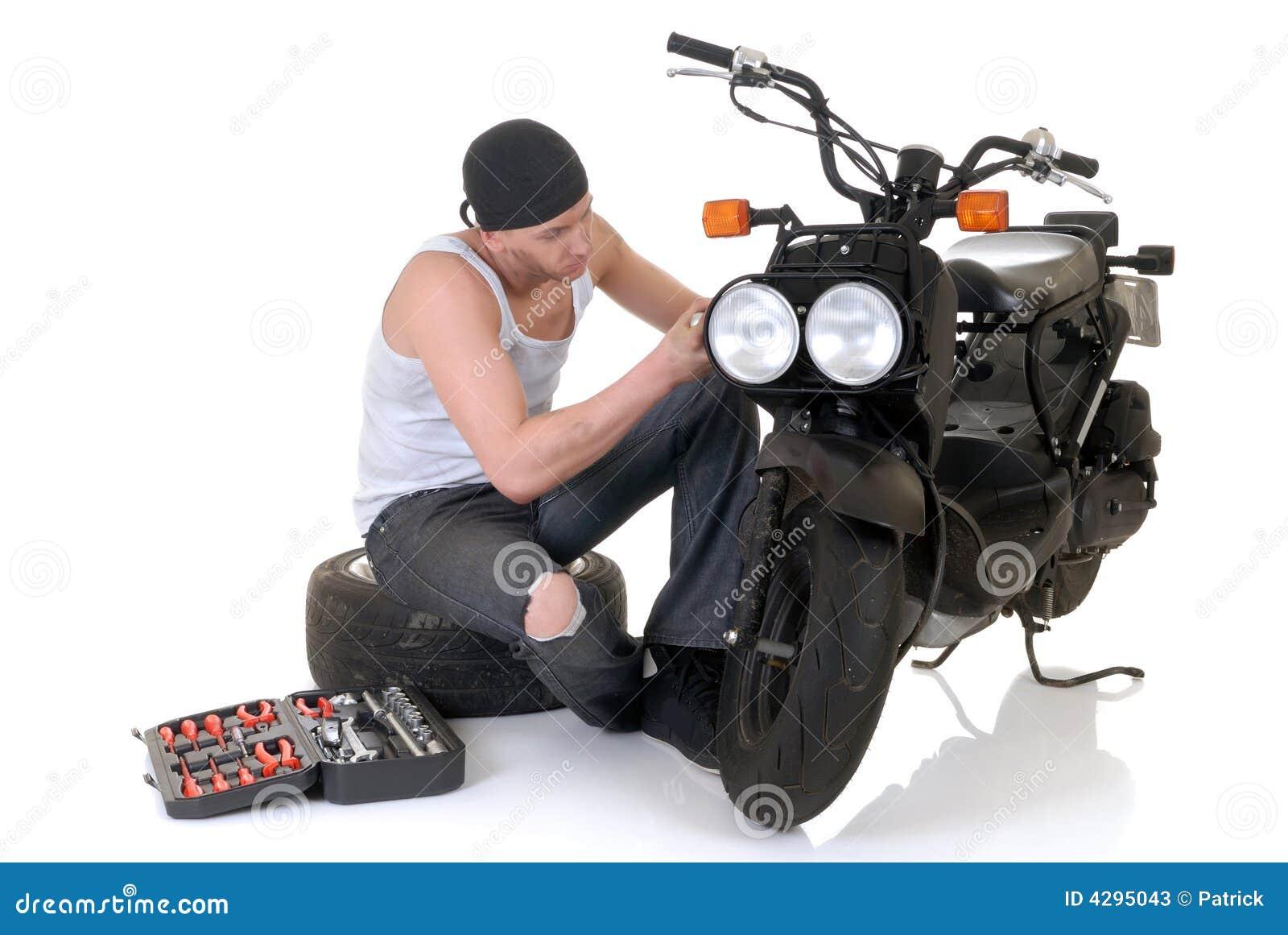 Из скутера своими руками фото
