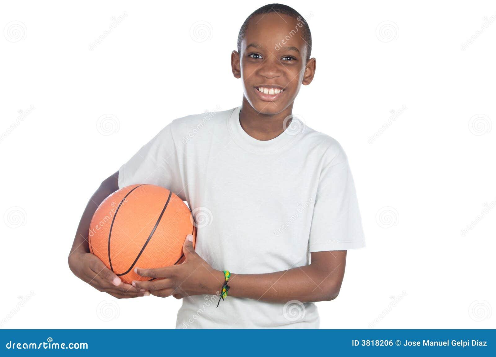 Boy Holding A Basketball Ball Royalty Free Stock Image - Image ...