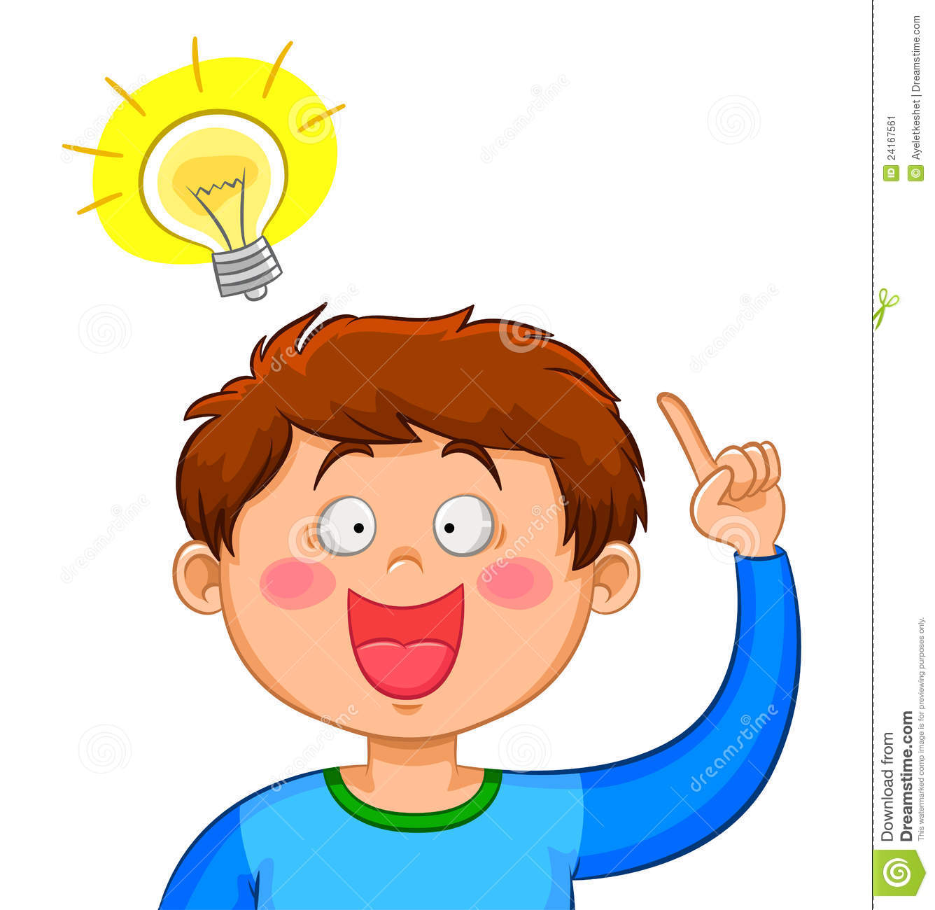boy with an idea stock vector illustration of brains clip art children reading and writing clip art children reading bible