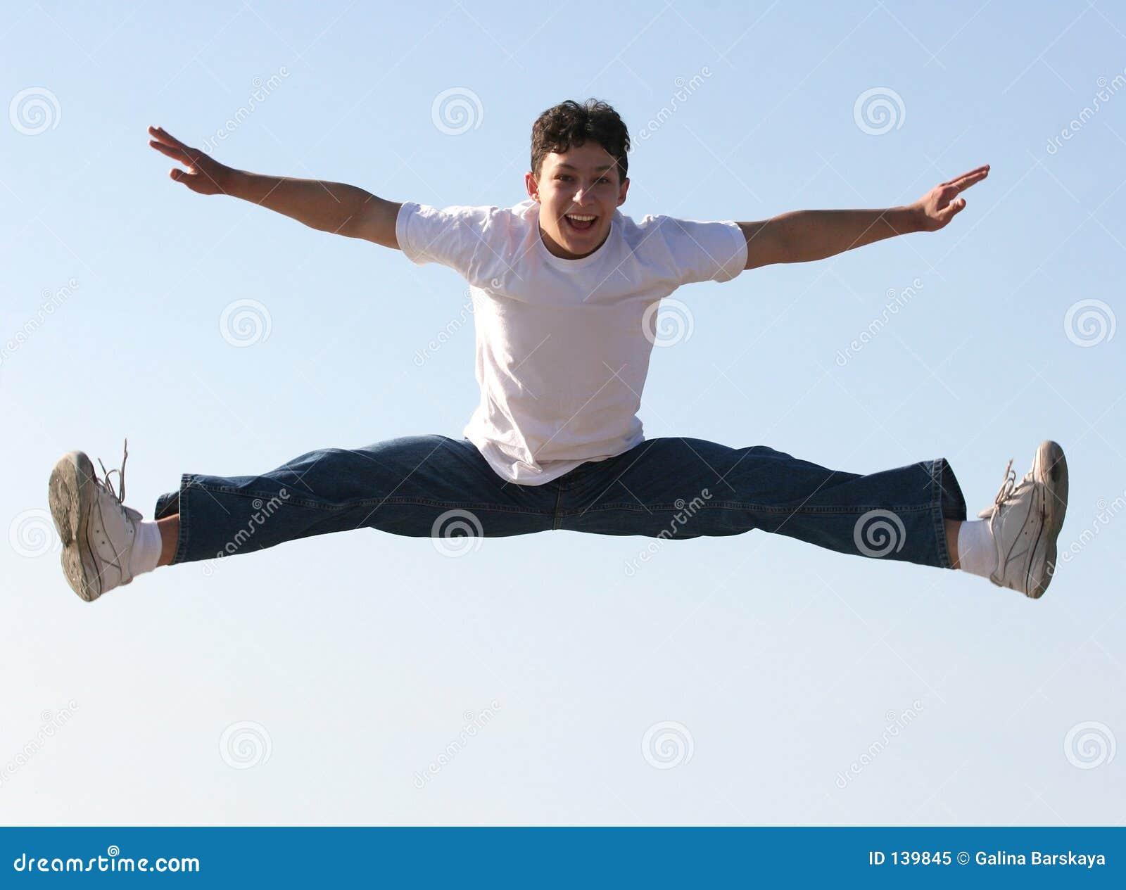 Boy Jumping Royalty Free Stock Photo Image 139845