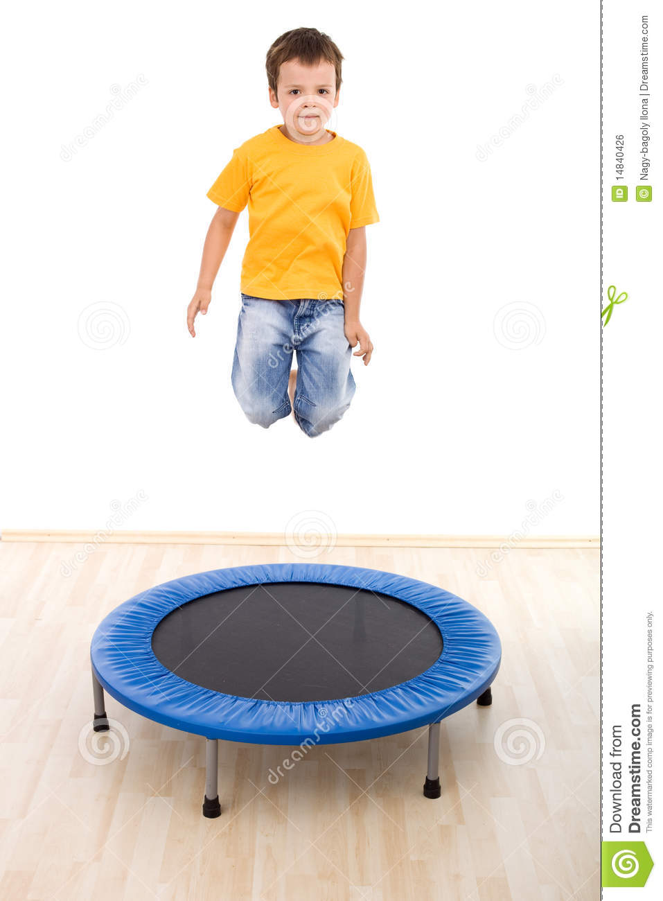 how to jump really high on a trampoline
