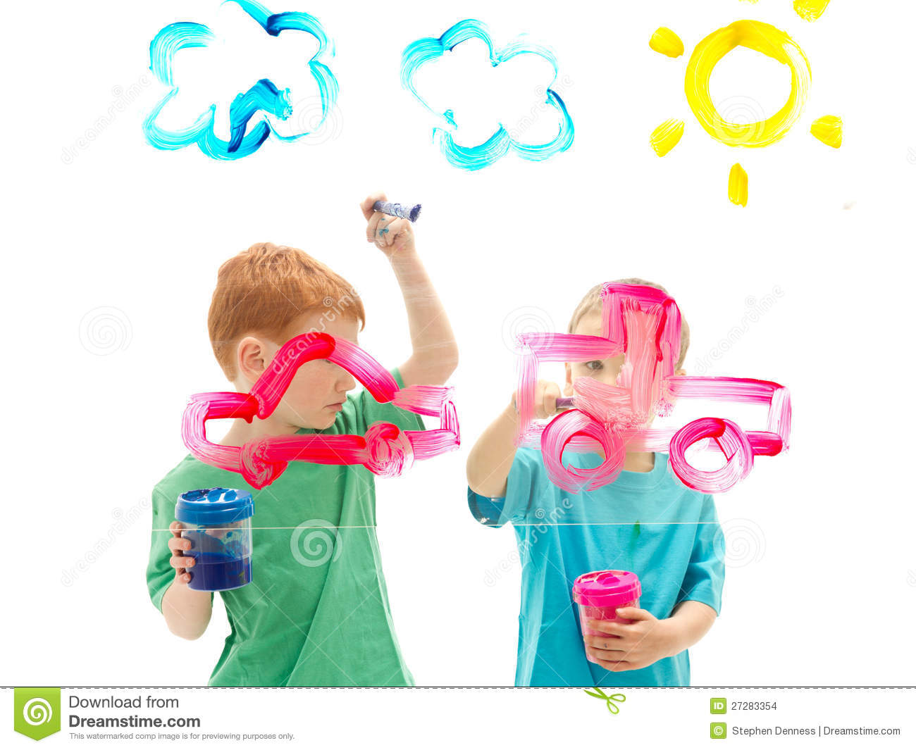 Image result for glass painting kid