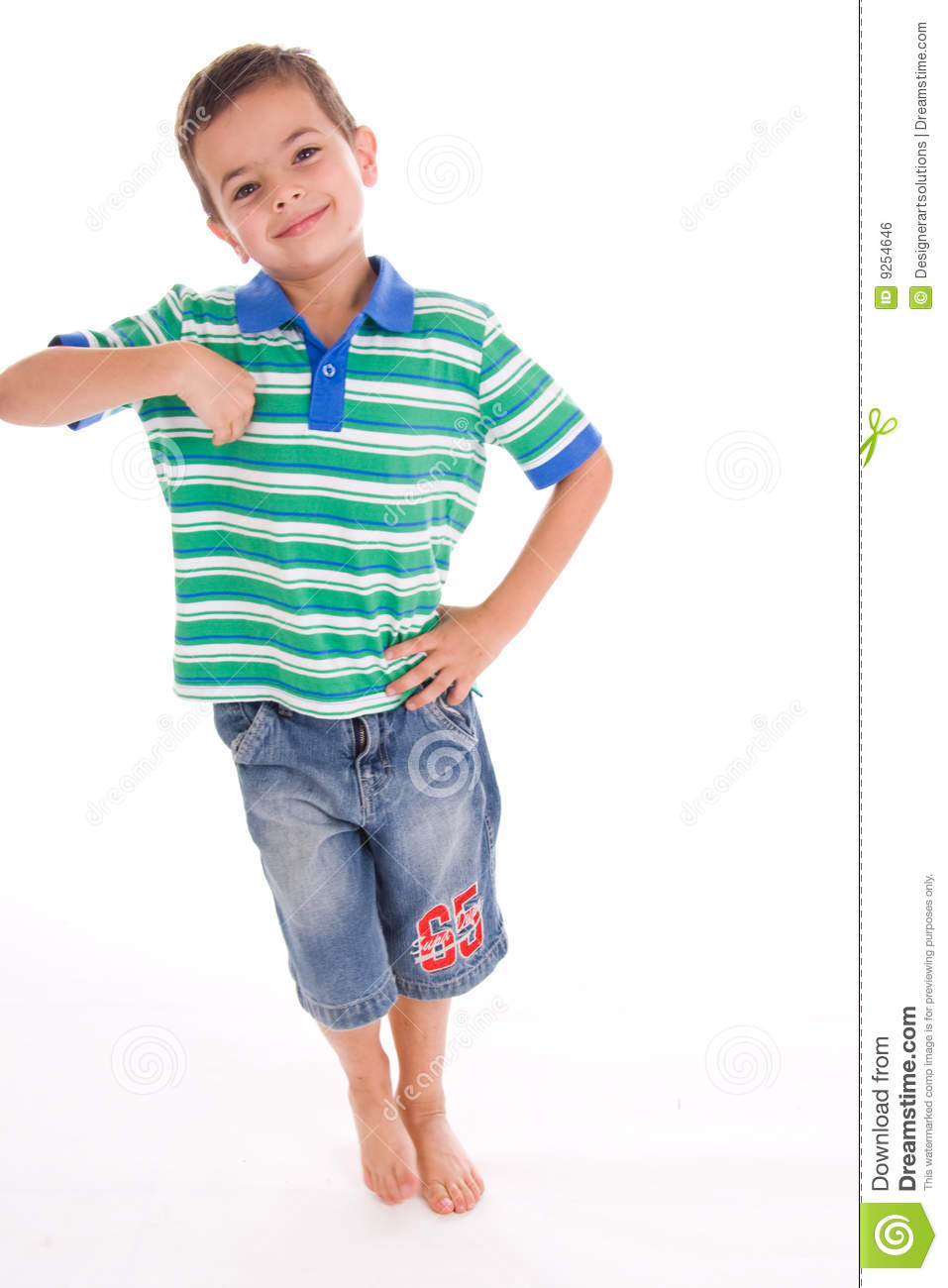 Boy leaning stock photo. Image of happily, casual, playing ...