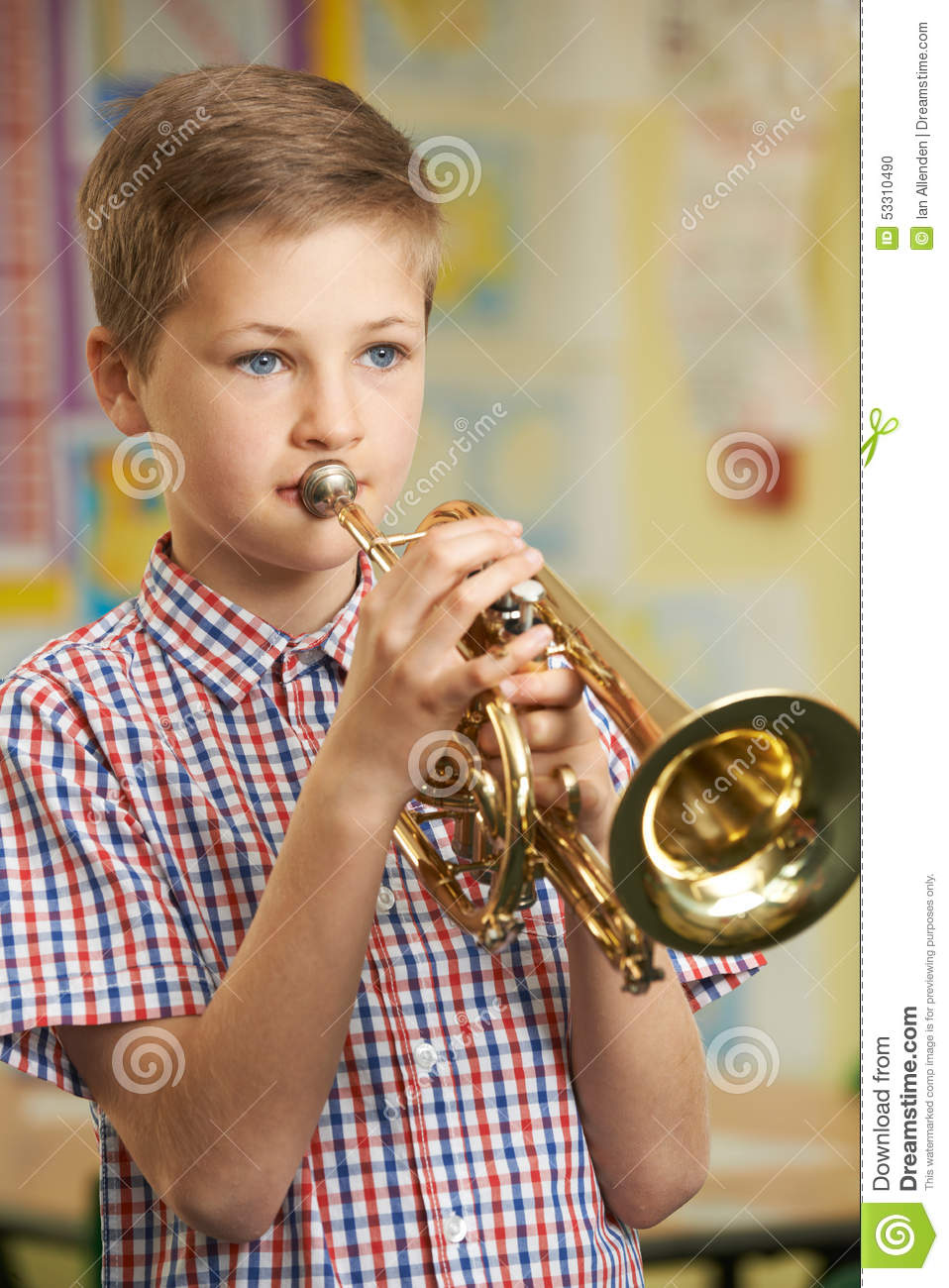 how to play trumpet in eb