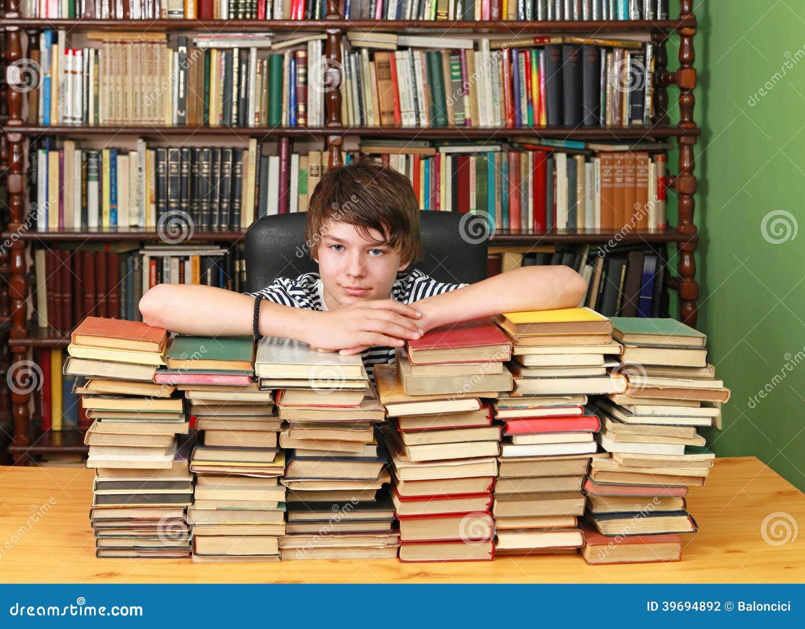 pile of books teen - photo #22