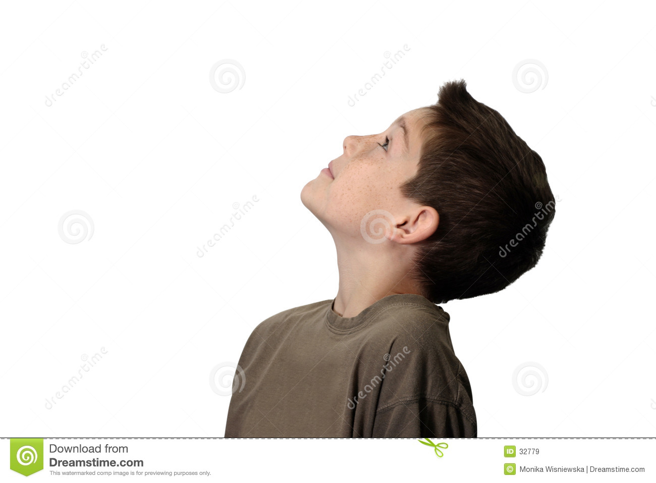 Clipart Bedroom Boy Looking Up Royalty Free Stock Images Image 32779