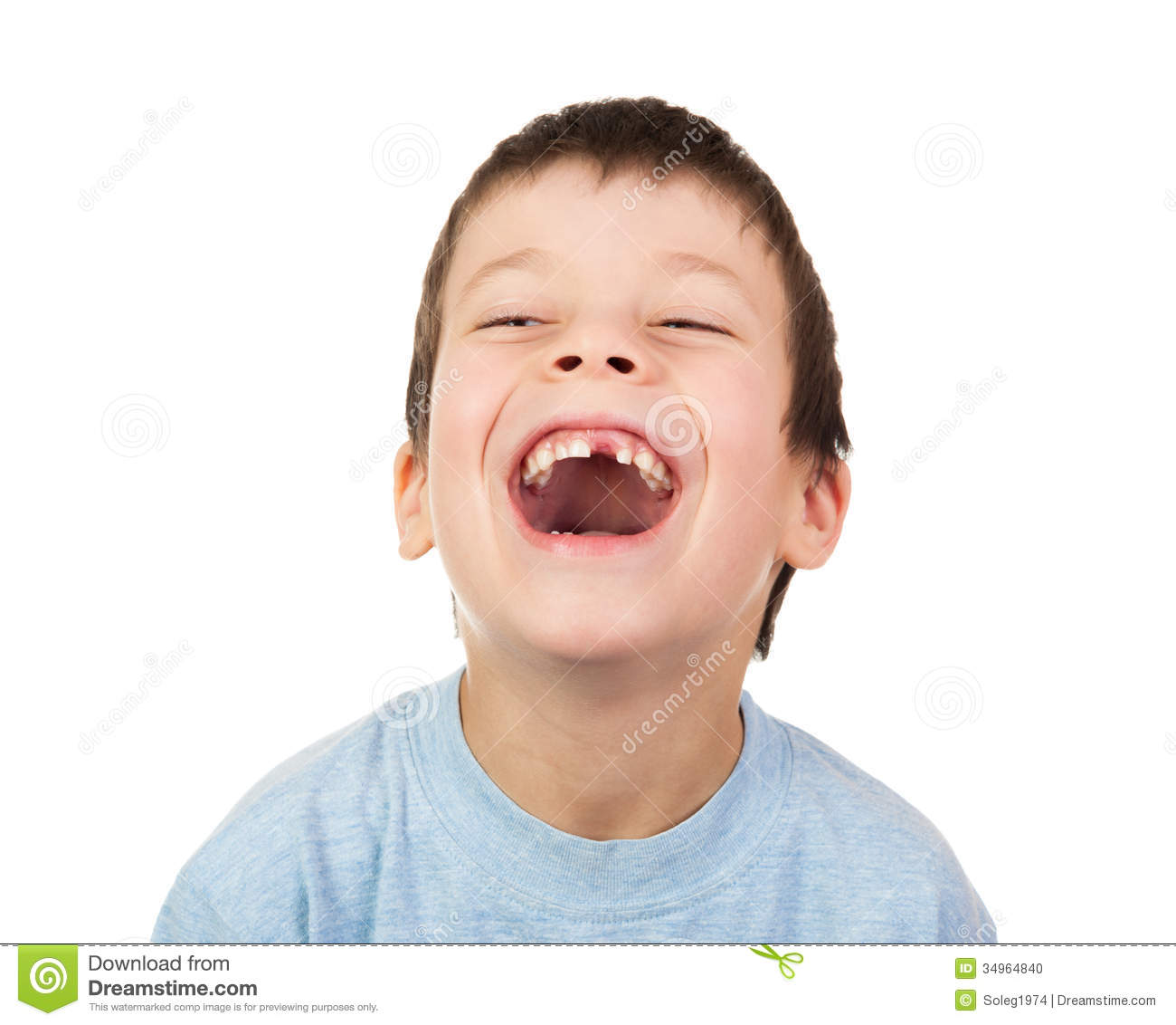 Http Www Dreamstime Com Stock Photo Boy Lost Tooth Laugh Isolated Image34964840