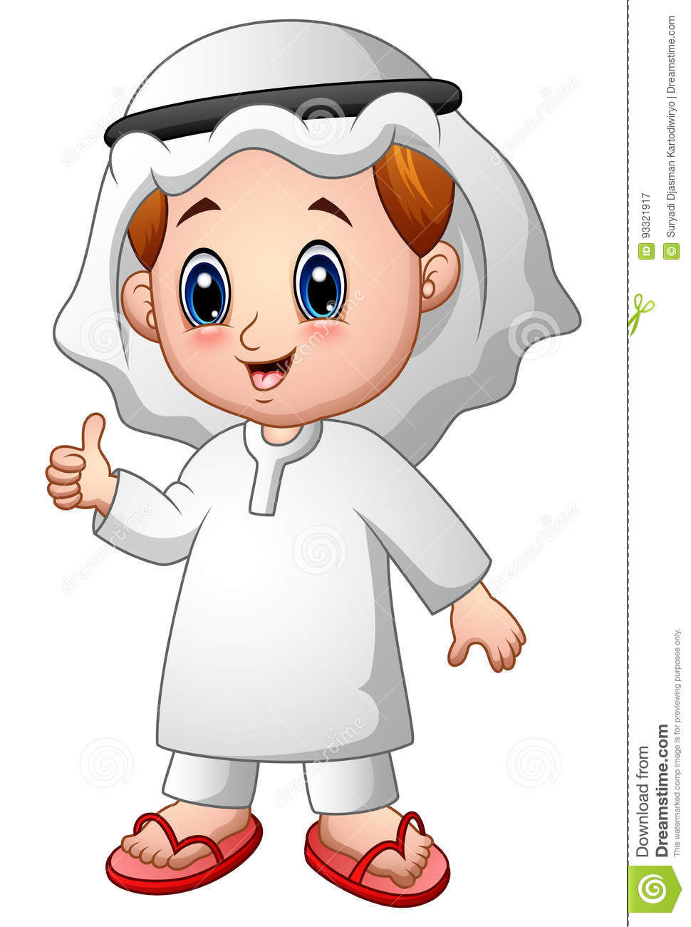 Young Muslim Boy Cartoon Royalty-Free Cartoon ...