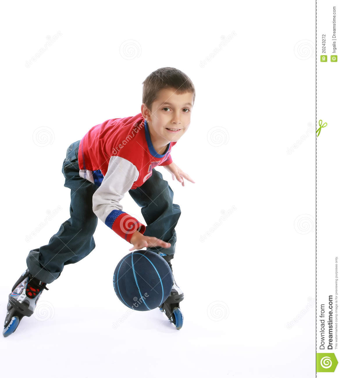 boy playing ball on the roller skates stock photography skate clip art black and white states clip art free