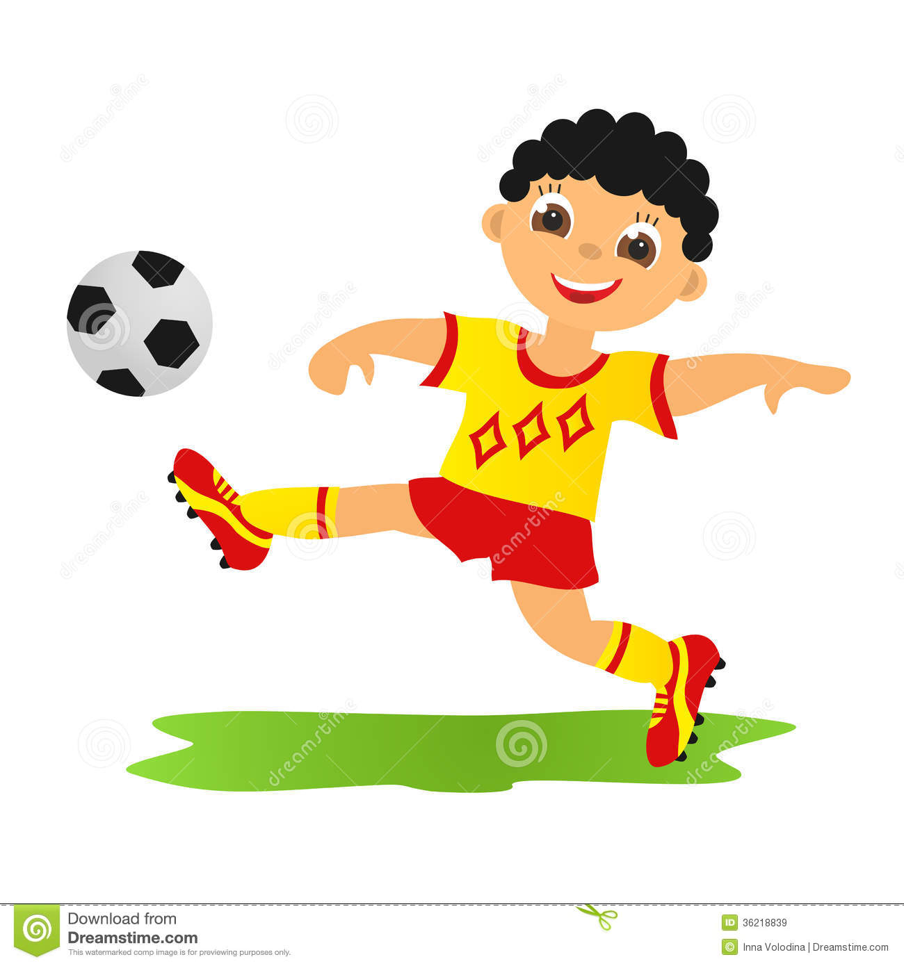 boy playing football stock illustration illustration of background 36218839 summertime clipart butterflies summertime clipart png