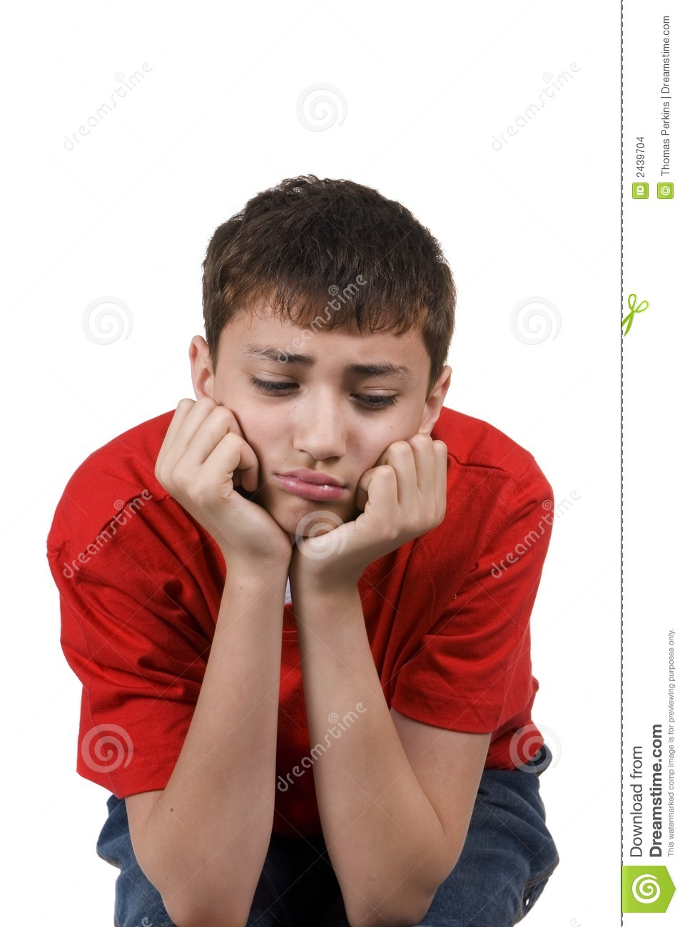 Z Classroom Design ~ Boy pouting stock images image