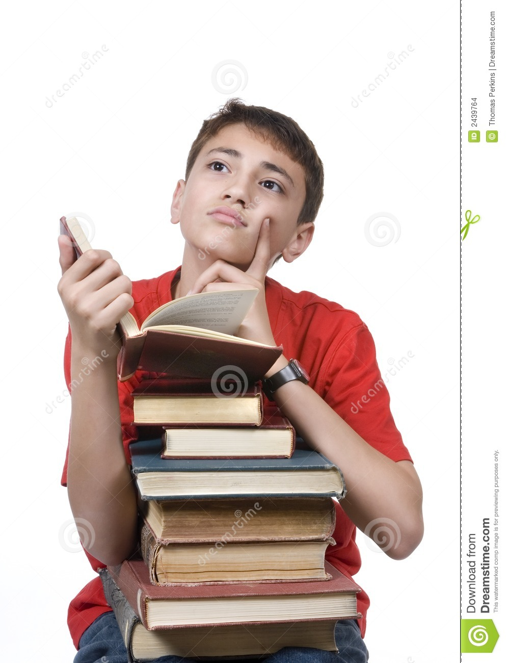 Http Www Dreamstime Com Stock Images Boy Reading Image2439764