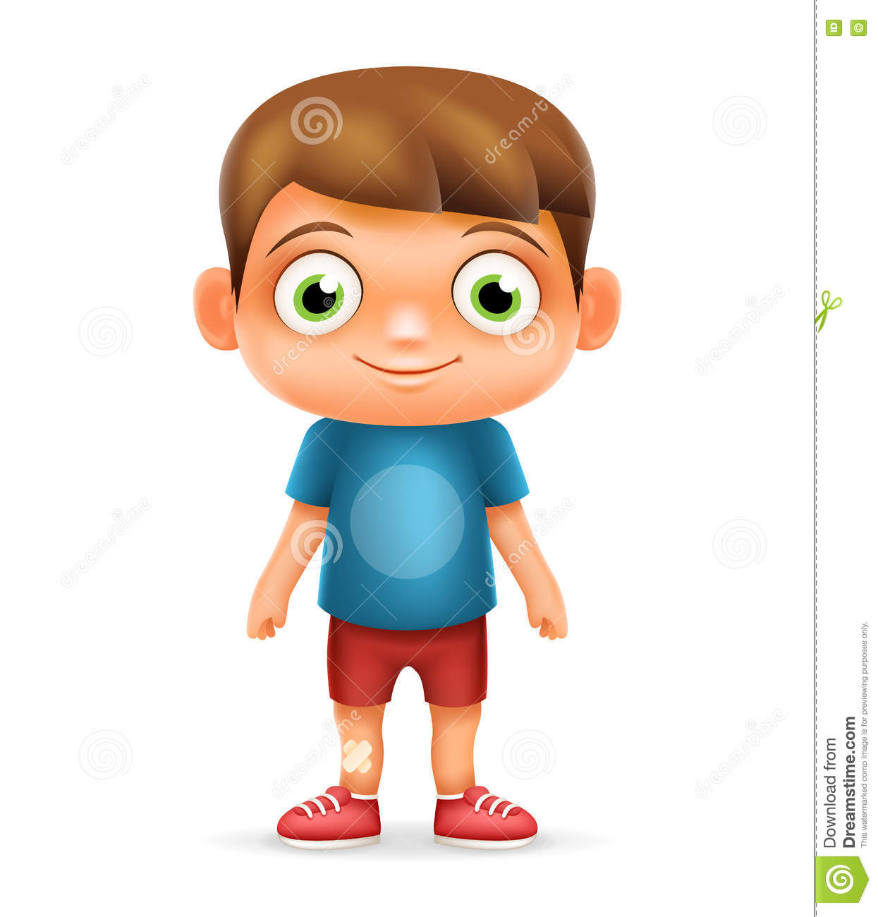 Boy realistic 3d child cartoon character icon vector illustrator stock vector image 75382381 - Foto de garcon ...