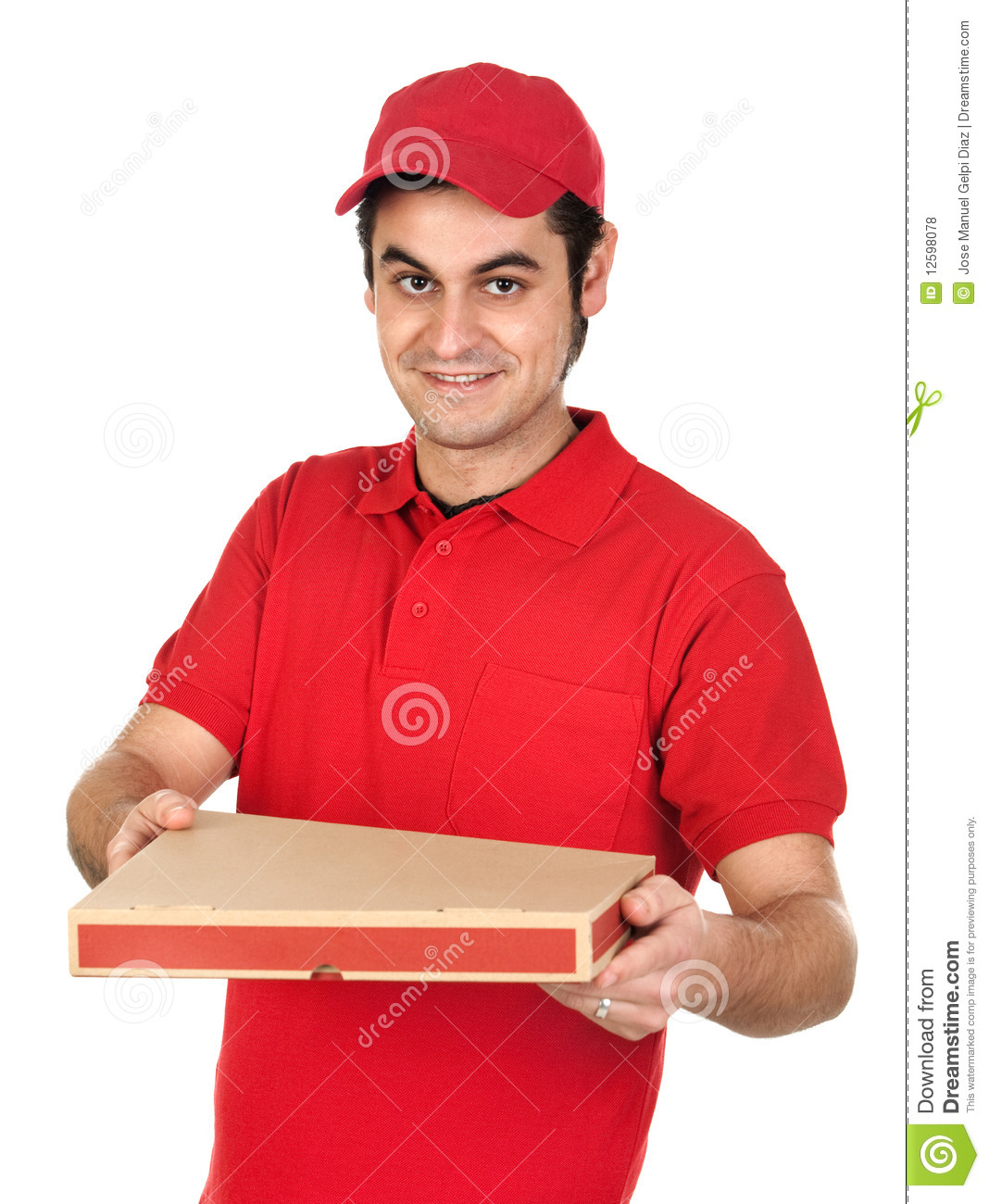I gave up online dating for the pizza boy