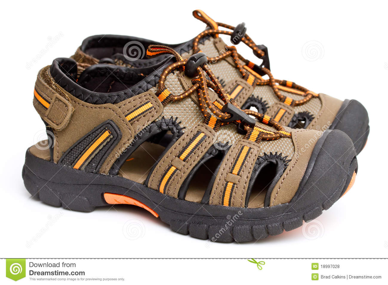Boy's Sandals Royalty Free Stock Photos - Image: 18997028