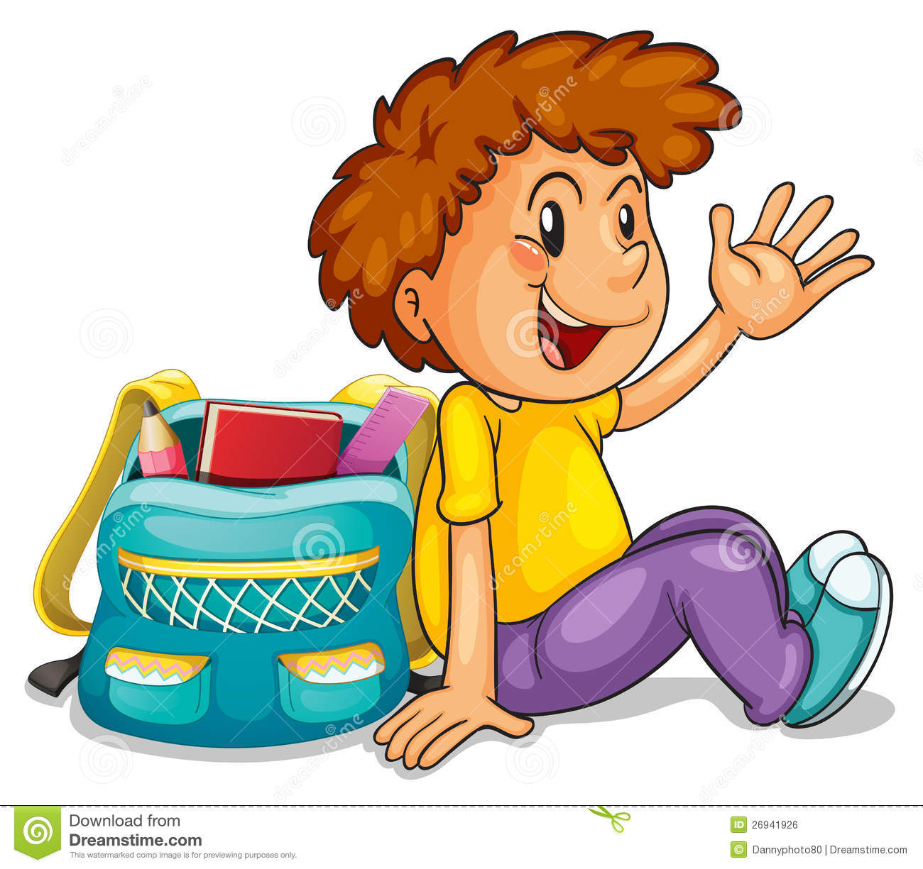 a boy with school bag royalty free stock image image school days clip art image school days clip art image
