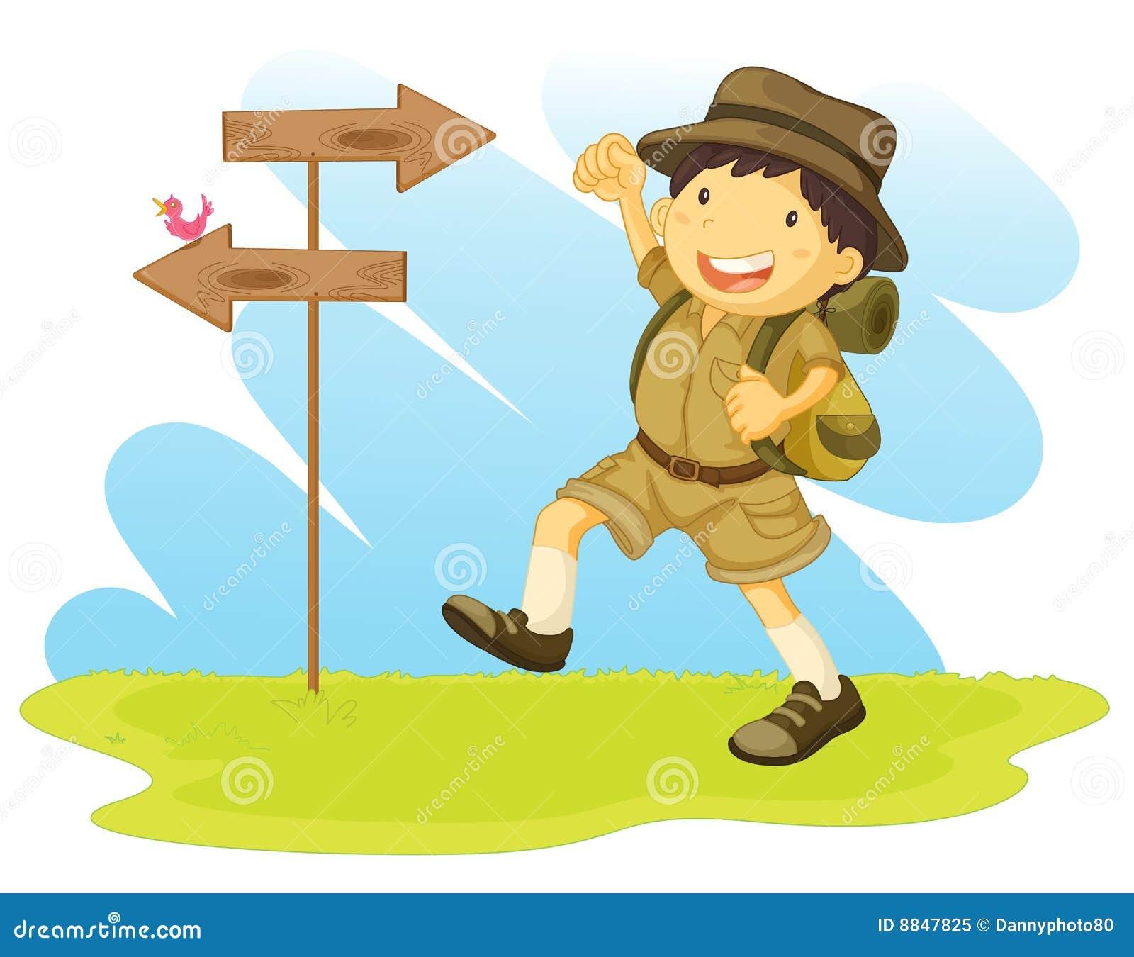 A Boy Scout Royalty Free Stock Photo - Image: 8847825