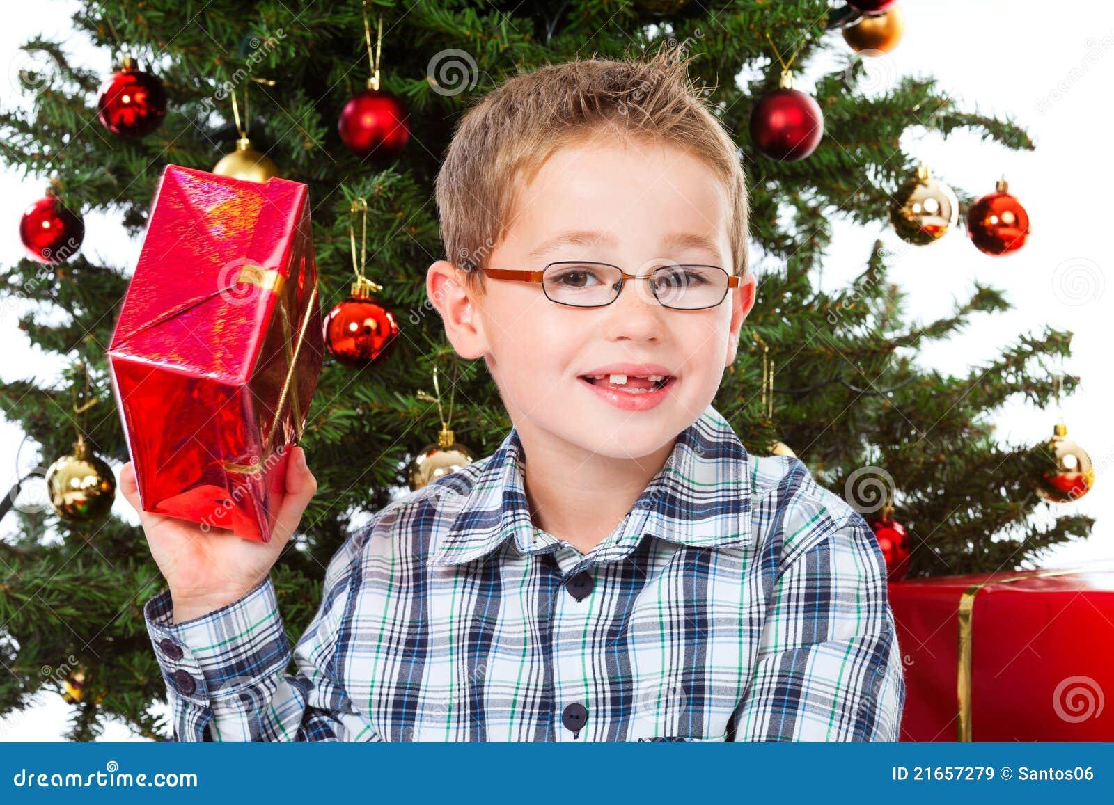 Shaking christmas present