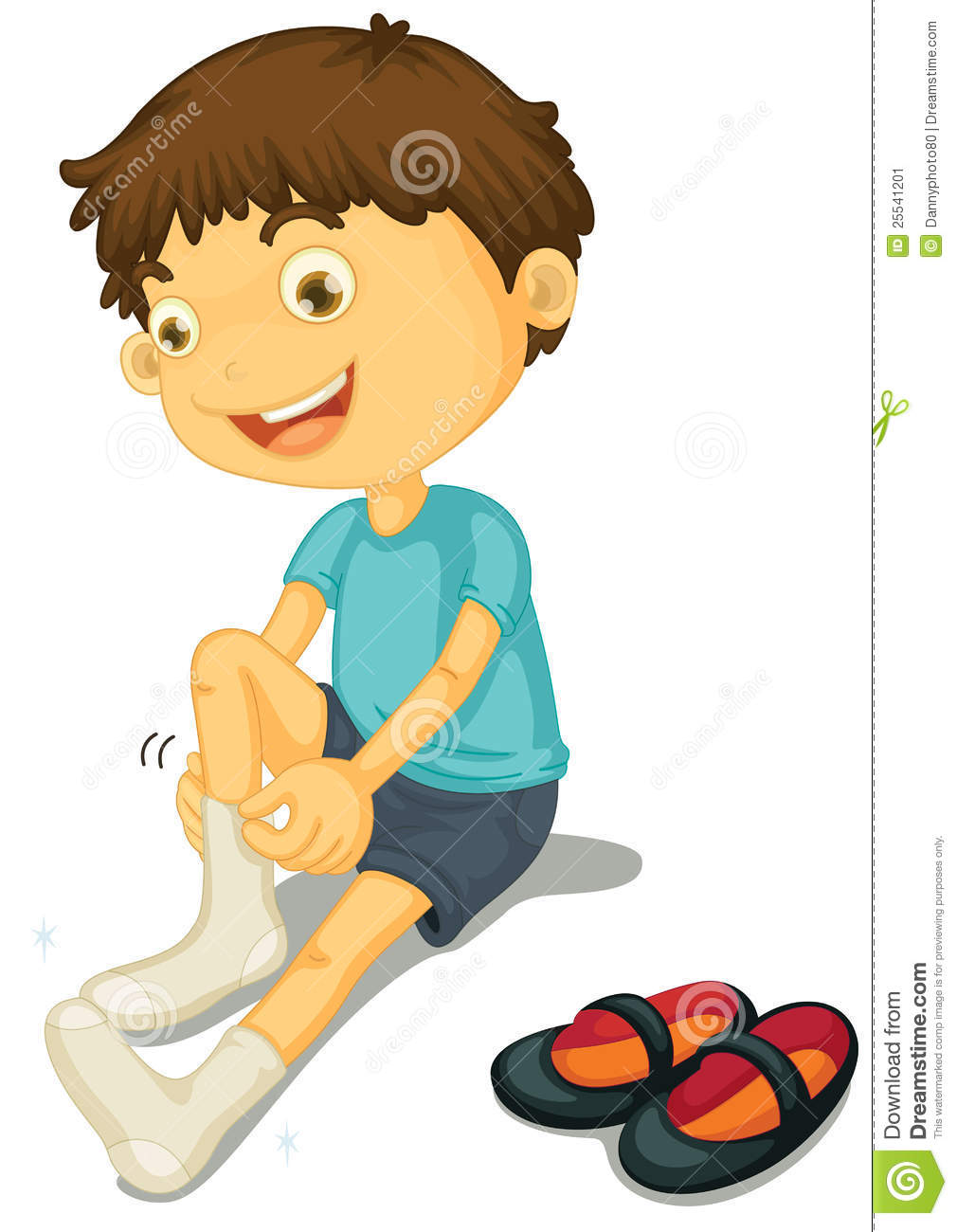 Boy And Shoes Stock Image - Image: 25541201
