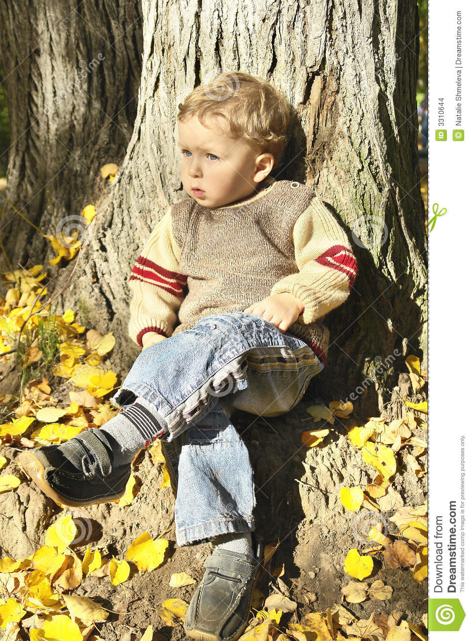the boy is sitting under the Sitting, i can't see the boy, but if i crane around the monks, i can see his tree i'm wearing thermal long johns under a pair of khaki pants, a long-sleeve thermal undershirt, a sweater, and a.