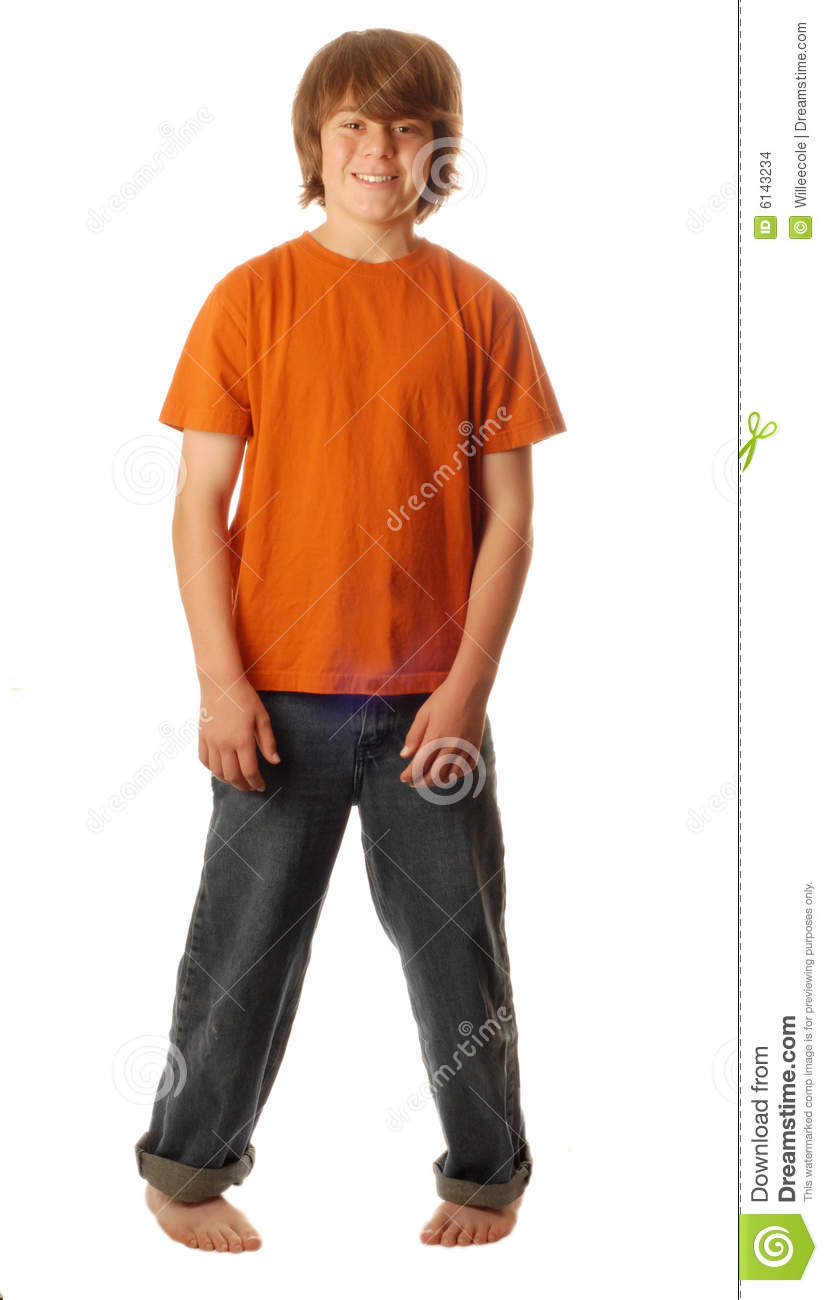 Boy Standing Pigeon Toed Stock Images Image 6143234